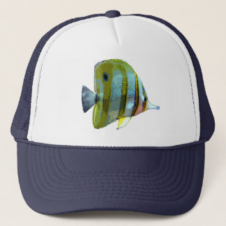 Copper-Banded Butterfly Fish Trucker Hat
