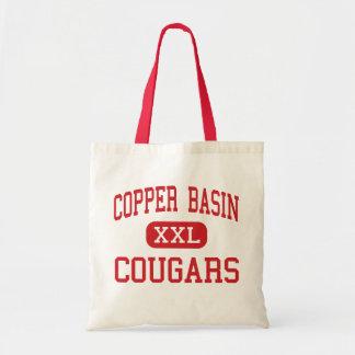 Copper Basin - Cougars - High - Copperhill Tote Bag