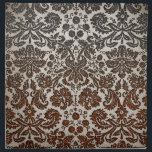 "Copper, Black, and Brown Damask Cloth Napkin<br><div class=""desc"">Copper,  black,  and brown damask pattern; cool,  trendy,  and elegant design.</div>"
