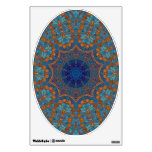 Copper Blue - Art for Your Toilet Seat Wall Skin