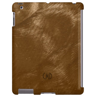 Copper Brown Metallic Design Brushed Steel Look 2