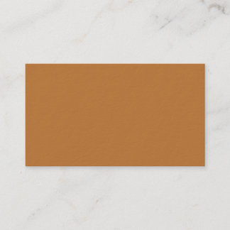 Copper Brown Premium Business Card