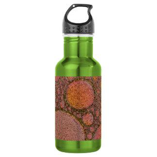 Copper bubble design 18oz water bottle