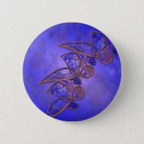 Copper Butterflies Button