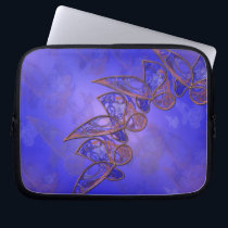 Copper Butterflies Laptop Sleeve