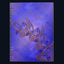 Copper Butterflies Notebook