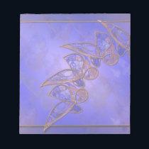 Copper Butterflies Notepad