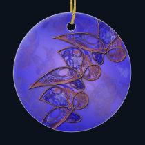 Copper Butterflies Ornament