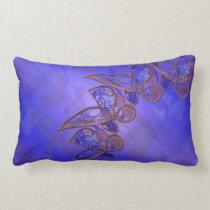 Copper Butterflies Pillow