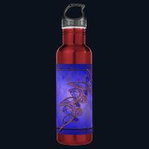 Copper Butterflies Water Bottle