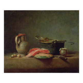 Copper Cauldron with a Pitcher Poster