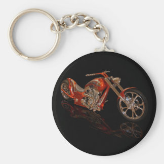 Copper Chopper Keychain