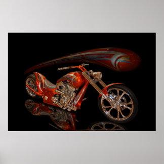Copper Chopper Print