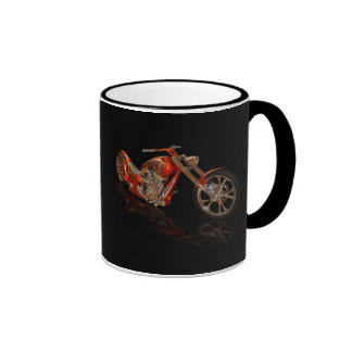 Copper Chopper Ringer Coffee Mug