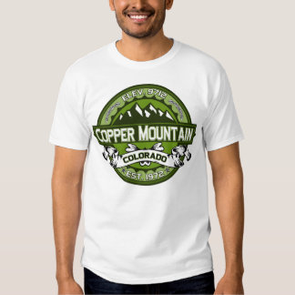 Copper City Logo Green Tee Shirt