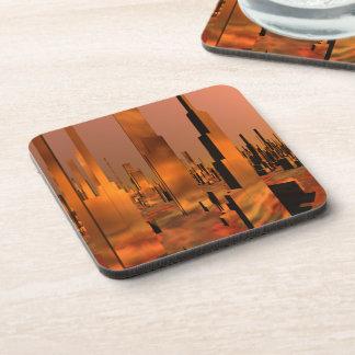 Copper City Sci Fi Drink Coaster