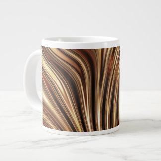 Copper Coffee Swirls Jumbo Mugs