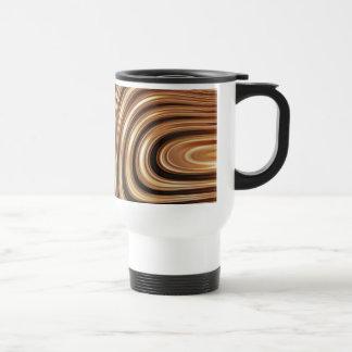 Copper Coffee Swirls Mugs