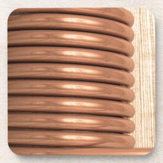 Copper Coil Drink Coaster