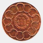 Copper Coin Reward Stickers
