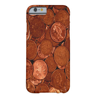 Copper Coins Barely There iPhone 6 Case