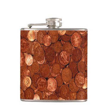 Professional Business Copper Coins Flask
