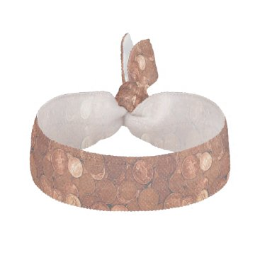 Copper Coins Hair Tie