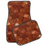 Copper Coins Mat