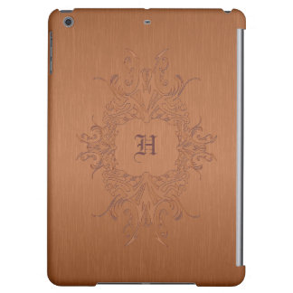 Copper Color Brushed Aluminum Case For iPad Air