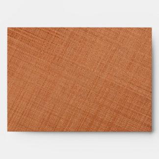 Copper Colored Envelope