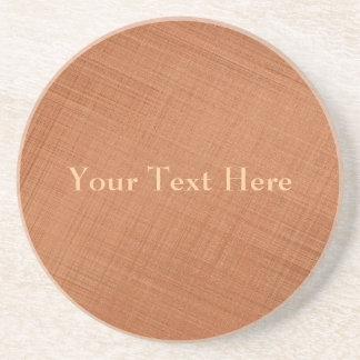 Copper Colored Sandstone Coaster