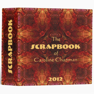 """Copper Colors  2"""" 3 Ring Binder"""