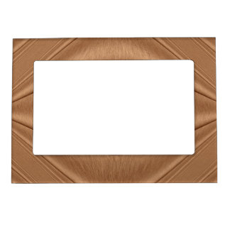 Copper Contour Magnetic Photo Frame