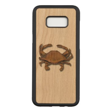 Copper Crab Carved Samsung Galaxy S8  Case