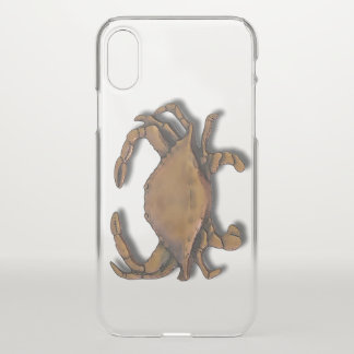 Copper Crab iPhone X Case
