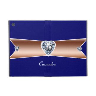 Copper Diamond Personalized iPad Mini Cases