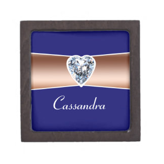 Copper Diamond Personalized Premium Gift Box