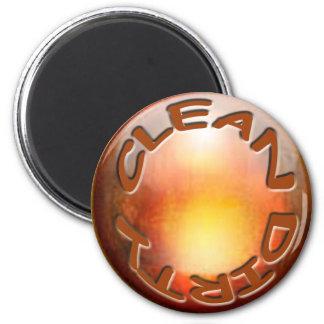 'Copper' Dishwasher Magnet' 2 Inch Round Magnet