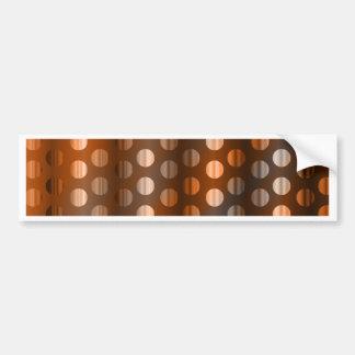 Copper Dots Bumper Sticker
