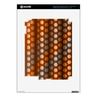 Copper Dots Decal For iPad 3