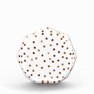 Copper Dots Pattern Award