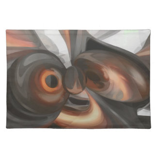 Copper Dreams Pastel Abstract Placemat