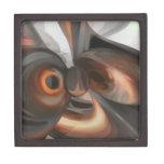 Copper Dreams Pastel Abstract Premium Trinket Box