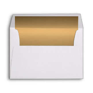 Copper-effect Lined Envelope
