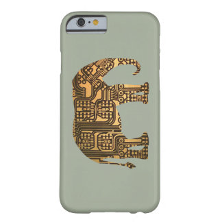 Copper Elephant Circuit Board Barely There iPhone 6 Case