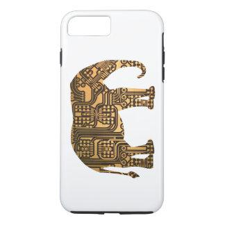 Copper Elephant Circuit Board iPhone 7 Plus Case