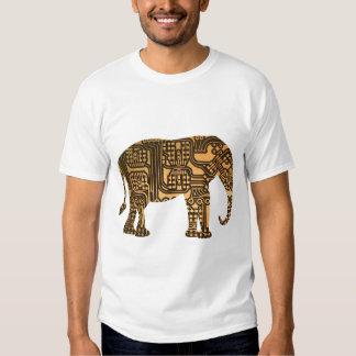 Copper Elephant Circuit Board T-shirt