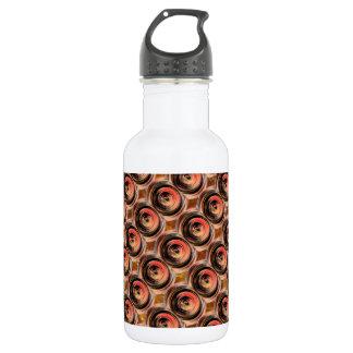 Copper Energy Beads : Embossed Foil Art Stainless Steel Water Bottle