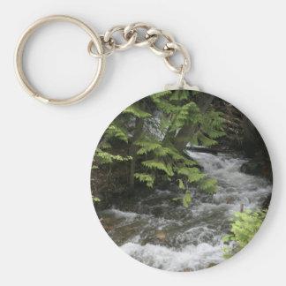 Copper Falls Creek Keychain