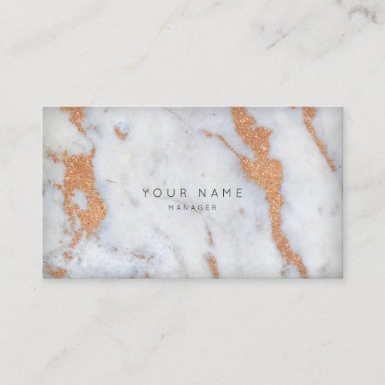 Copper Gray White Carrara Marble Appointment